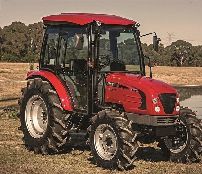 Case MaxxFarm 60HP Tractor