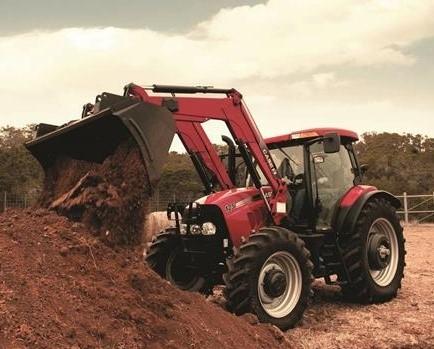 Case MXU110 110HP Tractor