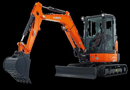 Kubota 3.5T Mini Excavator