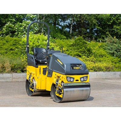 Bomag 1.6T BW90AD Double Drum Smooth Roller