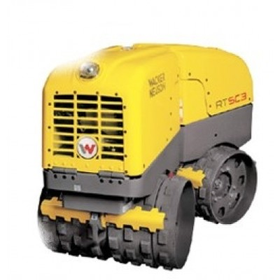 Wacker Neuson Twin Drum Padfoot Trench Compactor
